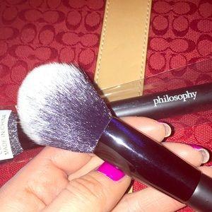 Philosophy makeup brush BNWT blush brush